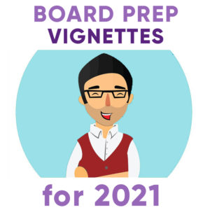 psychiatry board exam vignettes cases for 2021