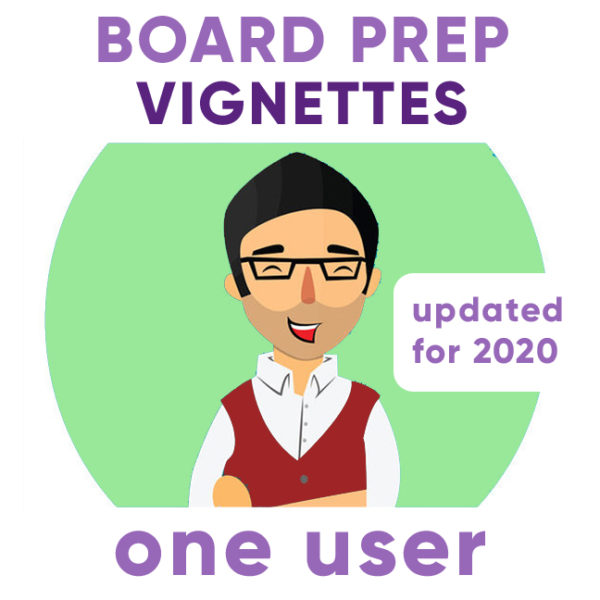 board exam psychiatry vignettes